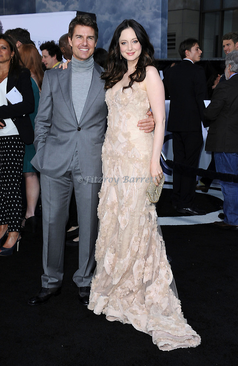 "Tom Cruise and Andrea Riseborough at the LA. premiere of ""Oblivion"" held at the Dolby Theatre in Los Angeles, CA. on April 10, 2013"
