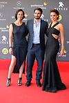 50 Festival Internacional de Cinema Fantastic de Catalunya-Sitges 2017.<br /> Red Carpet El Habitante.<br /> Gabriela de la Garza, Guillermo Amoedo &amp; Vanessa Restrepo.