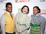 Students from Frank Sinatra School of the Arts backstage at The Fourth Annual High School Theatre Festival at The Shubert Theatre on March 19, 2018 in New York City.