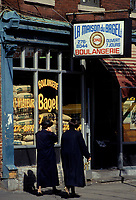 Montreal (Qc) CANADA - File Photo : La Maison du Bagel , bagel Shop on Bernard street in Outremont : home to many hassidic Jews