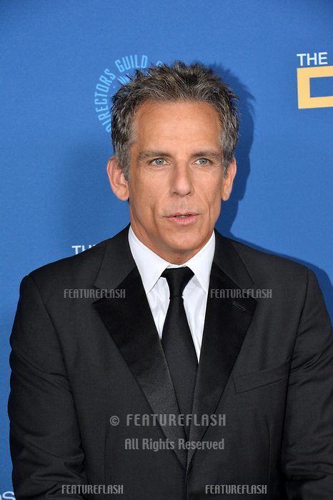 LOS ANGELES, CA. February 02, 2019: Ben Stiller at the 71st Annual Directors Guild of America Awards at the Ray Dolby Ballroom.<br /> Picture: Paul Smith/Featureflash