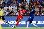 Bayern Munich Midfielder Renato Sanches (L) fights for the ball with Chelsea Midfielder N'Golo Kante (R) during the International Champions Cup match between Chelsea FC and FC Bayern Munich at National Stadium on July 25, 2017 in Singapore. Photo by Marcio Rodrigo Machado / Power Sport Images