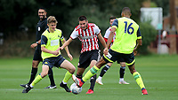 Canice Carroll of Brentford in action during Brentford B vs Huddersfield Town Under-23, Friendly Match Football at Brentford FC Training Ground, Jersey Road on 12th September 2018