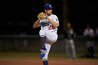 AZL Dodgers Lasorda relief pitcher Riley Ottesen (26) during an Arizona League game against the AZL Athletics Green at Camelback Ranch on June 19, 2019 in Glendale, Arizona. AZL Dodgers Lasorda defeated AZL Athletics Green 9-5. (Zachary Lucy/Four Seam Images)