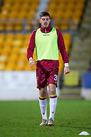 12th February 2020; McDairmid Park, Perth, Perth and Kinross, Scotland; Scottish Premiership Football, St Johnstone versus Motherwell; Declan Gallagher of Motherwell during the warm up before the match