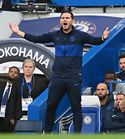 Chelsea Manager Frank Lampard during the Premier League match between Chelsea and Liverpool at Stamford Bridge on September 22nd 2019 in London, England. (Photo by Zed Jameson/phcimages.com)<br /> Foto PHC/Insidefoto <br /> ITALY ONLY