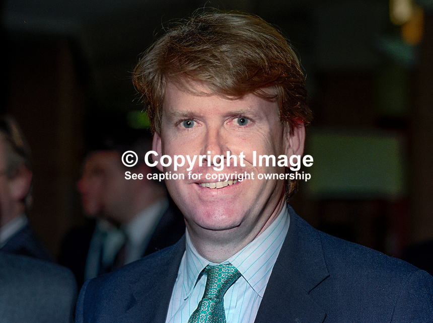 Simon Burns, MP, Conservative Party, UK, October, 1994, 199410055