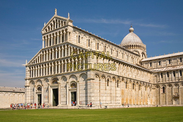 The cathedral, Piazza del Duomo, Pisa, Tuscany, Italy