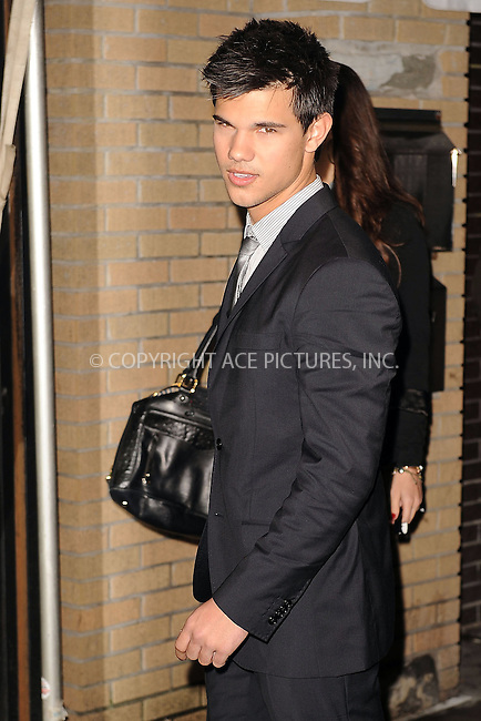 WWW.ACEPIXS.COM . . . . . ....November 19 2009, New York City....Taylor Lautner arriving at The Cinema Society and D&G screening of THE TWILIGHT SAGA: NEW MOON at Landmark's Sunshine Cinema on November 19, 2009 in New York City.....Please byline: KRISTIN CALLAHAN - ACEPIXS.COM.. . . . . . ..Ace Pictures, Inc:  ..(212) 243-8787 or (646) 679 0430..e-mail: picturedesk@acepixs.com..web: http://www.acepixs.com