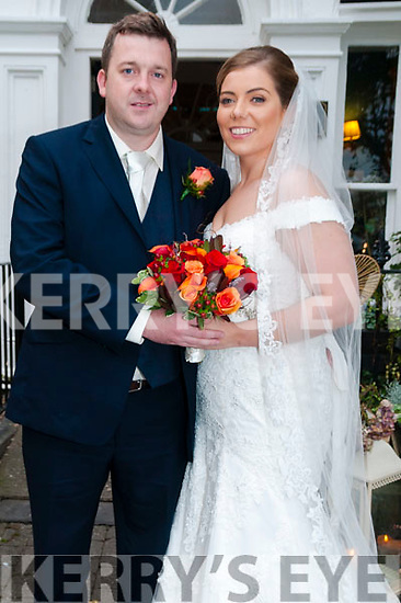 Sinead O'Sullivan, daughter of Con O'Sullivan & Mary Glynn, Ahalana, Moyvane and John Dineen, son of Andy Dineen & Pamela McVeigh, London who were married in St. John's Church,  Ballybunion by Fr. Kennelly on Saturday last. Best man was Michael Loftus and the groomsmen were Kevin O'Brien & Sean Mansfield. The bridesmaids were Elaine Wren, Lisa O'Donoghue Delve & Julia O'Sullivan. The flower girl was Nellie Glynn & the page boy was Ethan Wren The reception was held in the Listowsel Arms Hotel.