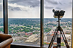 View from the Raquet club in the Kettering Tower of Dayton Ohio.