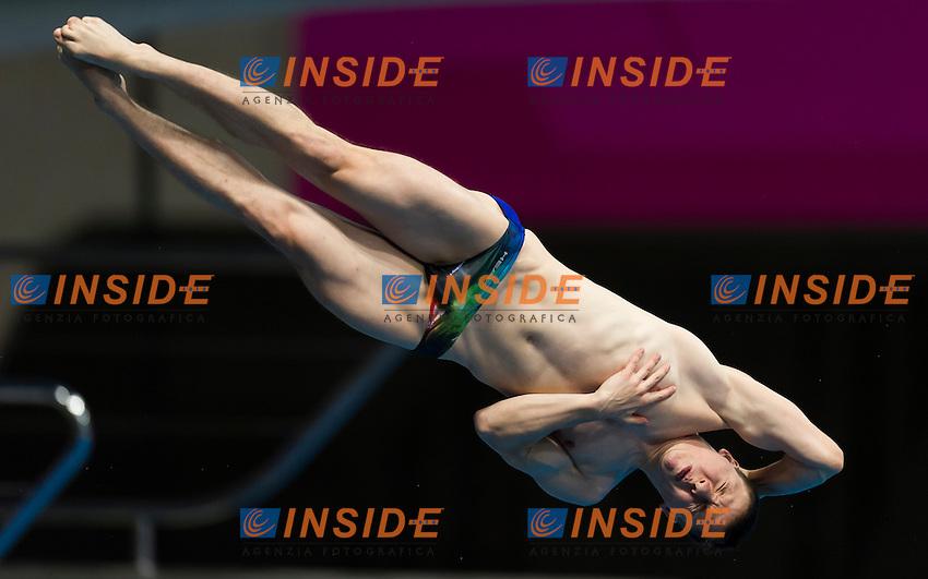 WOLFRAM Martin GER<br /> London, Queen Elizabeth II Olympic Park Pool <br /> LEN 2016 European Aquatics Elite Championships <br /> Diving<br /> Men's 3m springboard final <br /> Day 04 12-05-2016<br /> Photo Giorgio Perottino/Deepbluemedia/Insidefoto