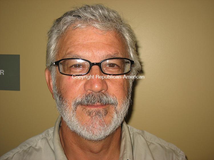 WOODBURY, CT - 29 July 2011 - 072911RH01 - Candidate for Woodbury selectman Martin Overton. Rick Harrison Republican-American