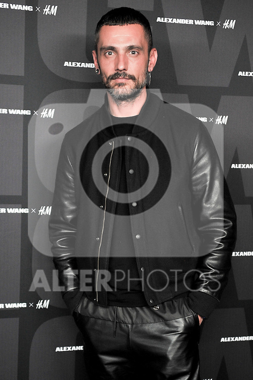 H&M VIP Party in Madrid, Spain. In the pic: David Delfin. November 5, 2014. (ALTERPHOTOS / Jose Luis Frias)