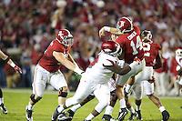 HAWGS ILLUSTRATED JASON IVESTER<br /> --10/10/15-- Arkansas @ Alabama football