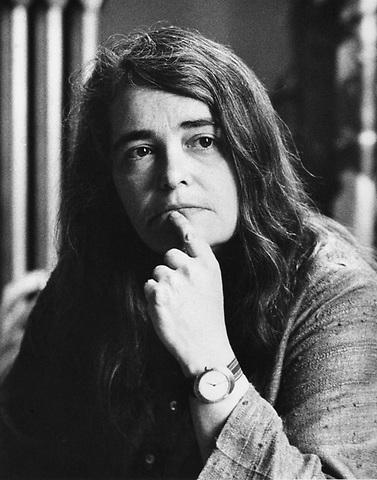 Kate Millett,  Lesbian Feminist author and artist, Cambridge MA 1977