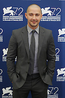 Shia LaBeouf attends the photocall for the movie 'Man Down' during the 72nd Venice Film Festival at the Palazzo Del Cinema in Venice, Italy, September 6, 2015.<br /> UPDATE IMAGES PRESS/Stephen Richie