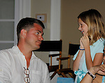 Jeff Branson & Olivia -  Actor from Y&R donated his time to Southwest Florida 16th Annual SOAPFEST - a celebrity weekend May 22 thru May 25, 2015 benefitting the Arts for Kids and children with special needs and ITC - Island Theatre Co. as it presented A Night of Stars on May 23 , 2015 at Bistro Soleil, Marco Island, Florida. (Photos by Sue Coflin/Max Photos)