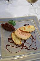 foie gras duck's liver restaurant l'oustalet gigondas rhone france