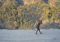 On the Road from Lumbini to Kathmandu,Nepal