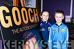 Sarah and Cillian Fitzgerald Listry at the launch of Gooch The Autobiography in the Gleneagle Hotel on Thursday evening