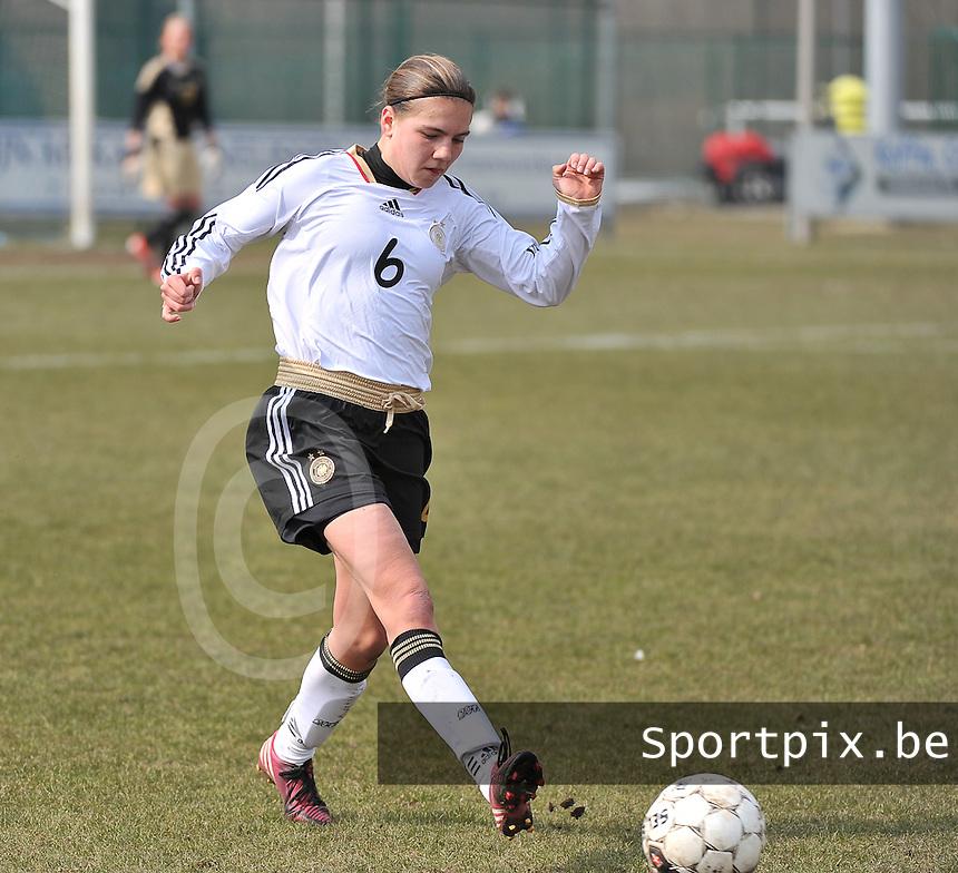Belgie U17 - Duitsland U17 : Rieke Dieckmann.foto DAVID CATRY / Vrouwenteam.be