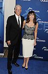 BEVERLY HILLS, CA- OCTOBER 30: Actors Ted Danson (L) and Mary Steenburgen arrive at the Oceana Partners Award Gala With Former Secretary Of State Hillary Rodham Clinton and HBO CEO Richard Plepler at Regent Beverly Wilshire Hotel on October 30, 2013 in Beverly Hills, California.