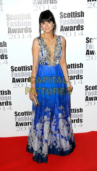 Lilah Parsons attends The Scottish Fashion Awards held at 8  Northumberland Avenue, on September 1, 2014 in London, England. <br /> CAP/CJ<br /> &copy;Chris Joseph/Capital Pictures