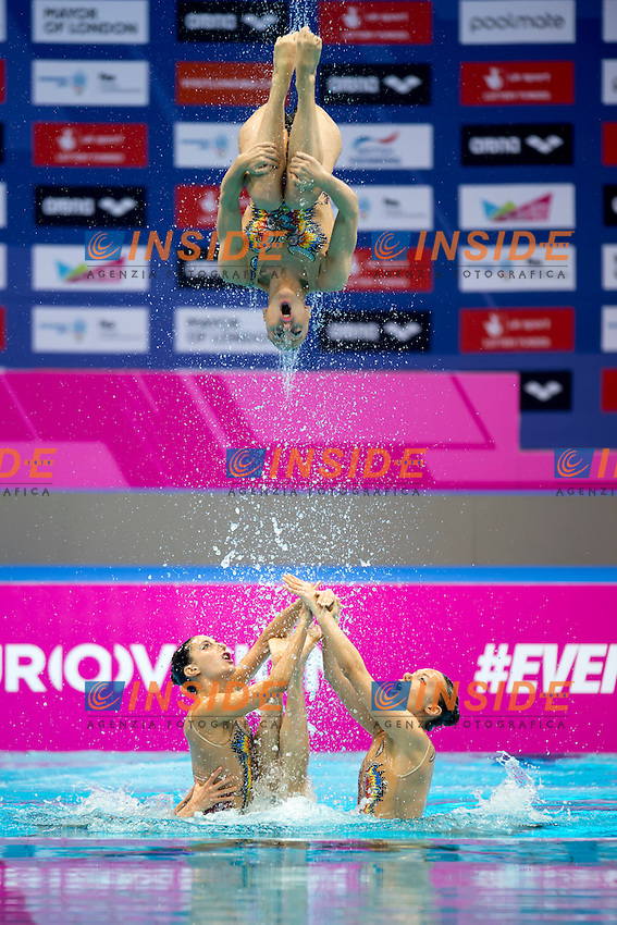 Team ITA Italy<br /> London, Queen Elizabeth II Olympic Park Pool <br /> LEN 2016 European Aquatics Elite Championships <br /> Team Technical final<br /> Day 01 09-05-2016<br /> Photo Giorgio Scala/Deepbluemedia/Insidefoto