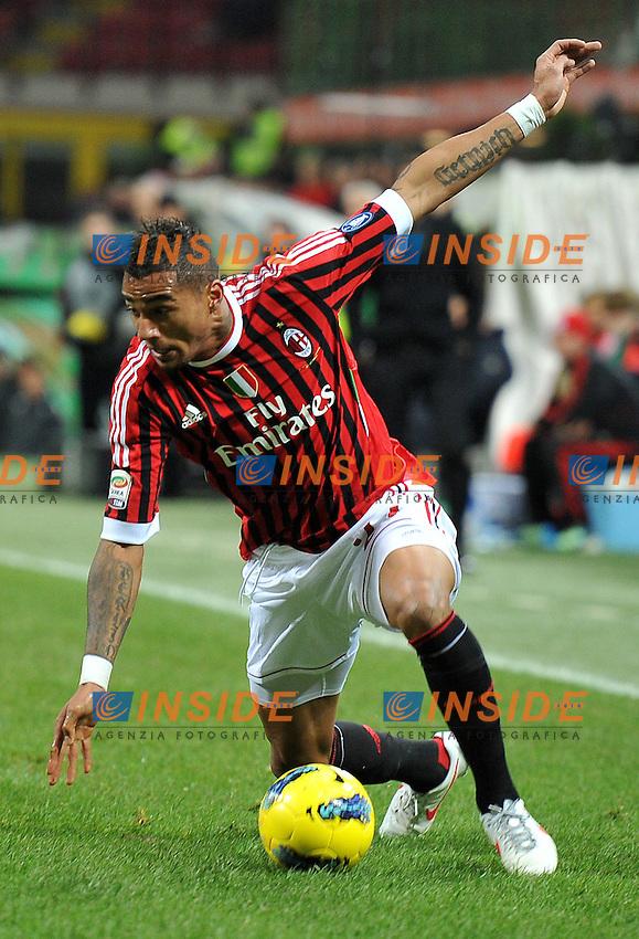 "Kevin Prince BOATENG (Milan).Milano 17/12/2011 Stadio ""Giuseppe Meazza"".Serie A 2011/2012.Football Calcio Milan Vs Siene.Foto Insidefoto Alessandro Sabattini."