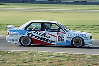 Final round of the 1991 British Touring Car Championship. #66 Nick Whale (GBR). TechSpeed Racing. BMW M3.