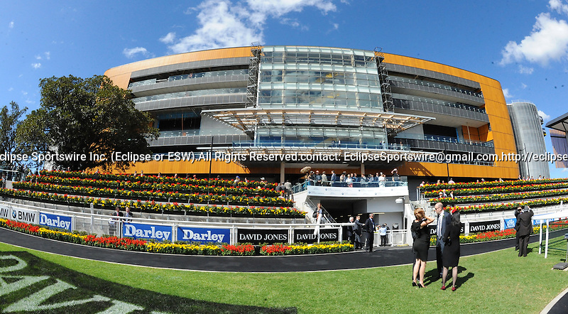 Scenes from around the track on Australian Derby Day on April 13, 2013 at Royal Randwick Racecourse in Sydney, New South Wales, Australia.  (Bob Mayberger/Eclipse Sportswire)