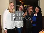Joanne Healy, Orlaith Nugent, Josephine McCabe and Caroline Grogan at the launch of Newtown Blues Strictly Come Dancing in Garvey's. Photo:Colin Bell/pressphotos.ie