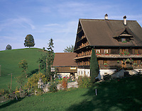 Farm house, Oberaegeri, Zug, Switzerland, Europe