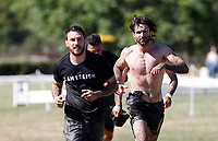 Partecipanti alla Legion Run a Roma, 13 maggio 2017.<br /> Participants attend the Legion Run 5 km obstacle race with mud, ice and water, in Rome, 13 May 2017.<br /> UPDATE IMAGES PRESS/Riccardo De Luca Partecipanti alla Legion Run, corsa di 5 chilometri con 21 ostacol, fango, ghiaccio, acqua e filo spinato, a Roma, 13 maggio 2017.<br />