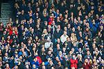 06.10.2019 Rangers v Hamilton: Rangers fans applauding another goal