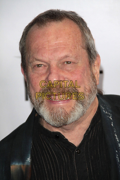 "TERRY GILLIAM .AFI Fest 2009 Premiere of ""The Imaginarium of Dr.Parnassus""   held at The Grauman's Chinese Theatre, Hollywood, California, USa..November 2nd, 2009.headshot portrait black beard facial hair mouth open.CAP/ADM/TC.©T. Conrad/AdMedia/Capital Pictures."