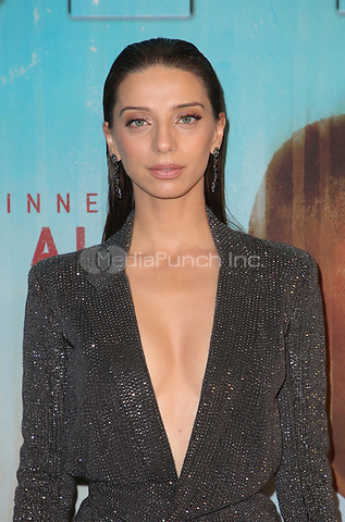 LOS ANGELES, CA - JANUARY 10: Angela Sarafyan at the Los Angeles Premiere of HBO's True Detective Season 3 at the Directors Guild Of America in Los Angeles, California on January 10, 2019. Credit: Faye Sadou/MediaPunch
