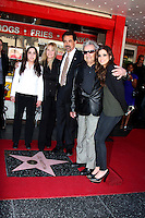 LOS ANGELES - APR 29:  Mia Mantegna, Arlene Mantegna, actor Joe Mantegna, Will Mantegna and actress Gia Mantegna attending the Hollywood Walf of Fame Star Ceremony for Joe Mantegna at Hollywood Walk of Fame on April 29, 2011 in Los Angeles, CA
