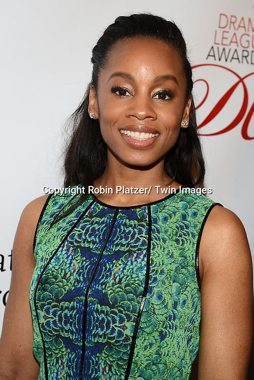 Anika Noni Rose attends the 80th Annual Drama League Awards Ceremony and Luncheon on May 16, 2014 at the Marriot Marquis Hotel in New York City, New York, USA.