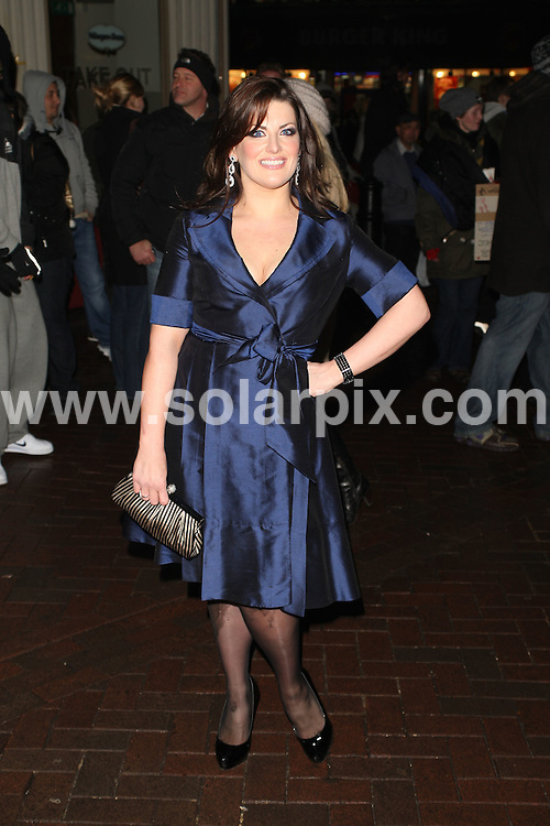 **ALL ROUND PICTURES FROM SOLARPIX.COM**.**WORLDWIDE SYNDICATION RIGHTS**.'Clubbed' film gala screening, held at the Empire Cinema, Leicester Square, London, UK. January 7th January 2009 ..This pic: Jodie Prenger..JOB REF: 8209 GCH     DATE: 07_01_2009.**MUST CREDIT SOLARPIX.COM OR DOUBLE FEE WILL BE CHARGED* *ONLINE USAGE FEE £50.00 PER PICTURE - NOTIFICATION OF USAGE TO PHOTO@SOLARPIX.COM*