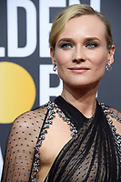 Diane Kruger arrives at the 75th Annual Golden Globe Awards at the Beverly Hilton in Beverly Hills, CA on Sunday, January 7, 2018. <br /> *Editorial Use Only*<br /> CAP/PLF/HFPA<br /> &copy;HFPA/PLF/Capital Pictures