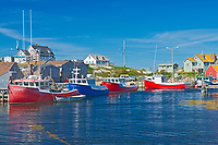 Historic fishing village of Peggy's Cove, Peggy's Cove, Nova Scotia, Canada