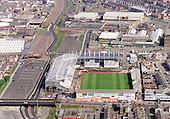 2001 New stands construction Blackpool FC's Bloomfield Road Ground