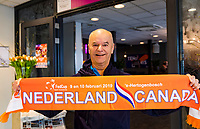 Den Bosch, The Netherlands, Februari 9, 2019,  Maaspoort , FedCup  Netherlands - Canada, banners<br /> Photo: Tennisimages/Henk Koster