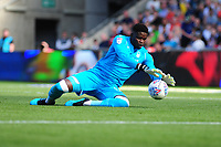 Brice Samba of Nottingham Forest in action during the Sky Bet Championship match between Swansea City and Nottingham Forest at the Liberty Stadium in Swansea, Wales, UK. Saturday 14 September 2019
