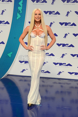 INGLEWOOD, CA - AUGUST 27: Gigi Gorgeous at the 2017 MTV Video Music Awards At The Forum in Inglewood, California on August 27, 2017. Credit: David Edwards/MediaPunch