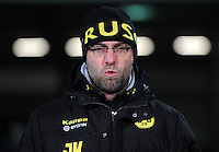 FUSSBALL   DFB POKAL   SAISON 2011/2012   VIERTELFINALE Holstein Kiel - Borussia Dortmund                          07.02.2012 Trainer Juergen Klopp (Borussia Dortmund)