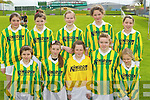Lispole National School under 12 team Primary Schools Football Finals at Austin Stack park on Thursday, Front row.
