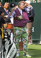 25 SEP 12  It seems that the Cup is missing as Bill Murray gets ready on the first tee during Tuesdays Celebrity Scramble at  The 39th Ryder Cup at The Medinah Country Club in Medinah, Illinois.